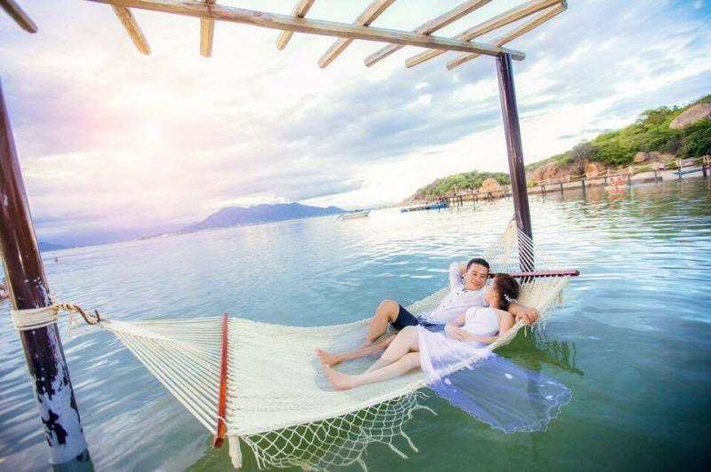 chụp hình cưới tại sao biển resort cam ranh 19